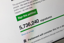 Online Petition To Revoke Article 50 And Reconsider Brexit Has Over 5 Million Signatures