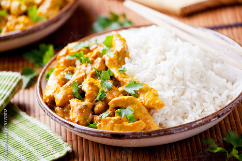 Couple Of Bowls Of Homemade Chicken Masala - 257701112