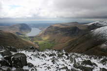 Wast Water From Summit Of Grea...
