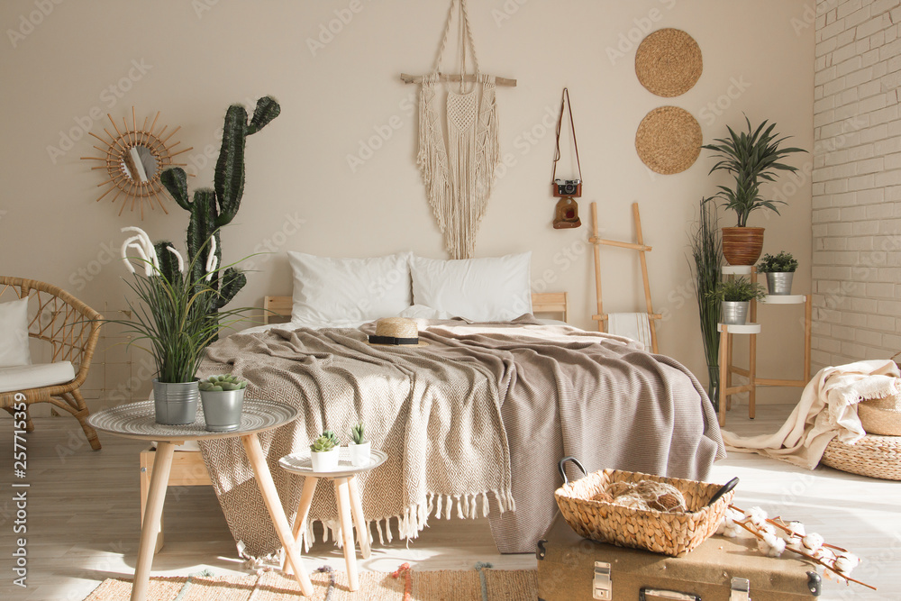 Fototapety, obrazy: Country Style Bedroom