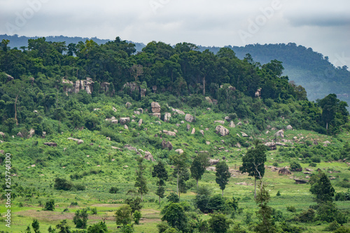 Amazing jungle scenery in the mountains of Cambodia Canvas Print