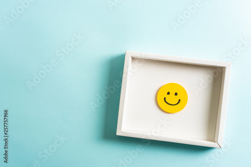 Concept of well done, feedback, employee recognition award Canvas Print