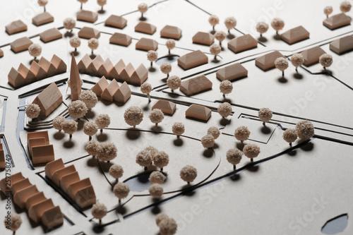 Obraz Urbanism scenery landscape miniature - fototapety do salonu