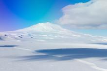 Mt Erebus, Ross Island, Antarc...