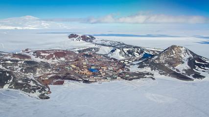 McMurdo Station, Ross Island, Antarctica
