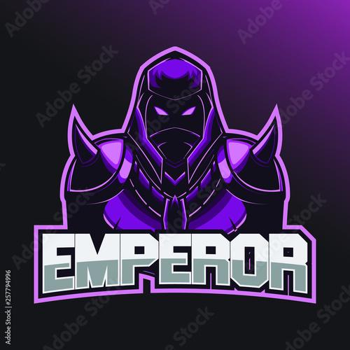 Warrior Esport Logo  Esport logo template with wearing a