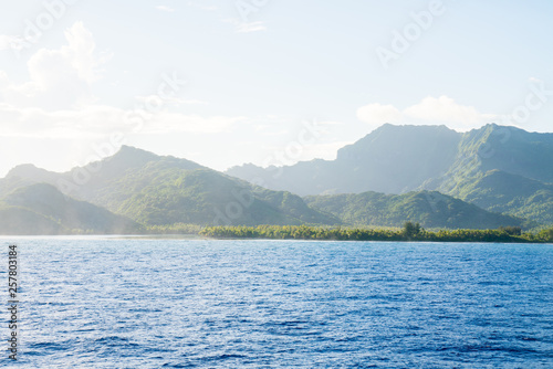 Fototapeta Huahine, Tahiti (French Polynesia)