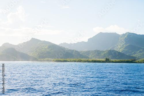 Stampa su Tela Huahine, Tahiti (French Polynesia)