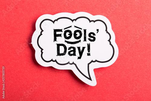 Photo April Fools' Day Speech Bubble