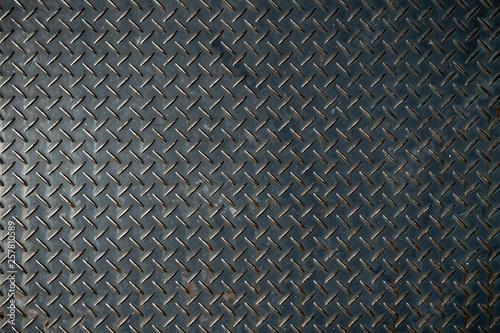 滑り止めのついた鉄板 Canvas Print