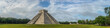 Leinwanddruck Bild - El Castillo or Temple of Kukulkan pyramid, Chichen Itza, Yucatan, Mexico