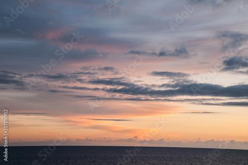 Foto auf Gartenposter Nordlicht Colored Clouds at Sunset