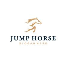 Jump Horse Logo Design