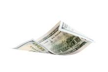 One Hundred Dollars Isolated O...