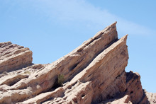 Vasquez Rocks In California Desert, Used As Filming Locations For Many Science Fiction Shows Including Star Trek.