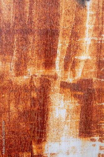 Foto  Heavily Corrugated Metal Plate