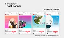Summer Instagram Post