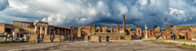 Ruins Of Pompeii Near Naples, ...