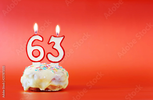 Fotografia  Sixty three years birthday