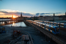 Sunset View Of Gamla Stan And ...