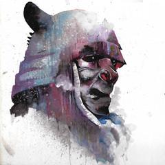 Samurai wattercolor