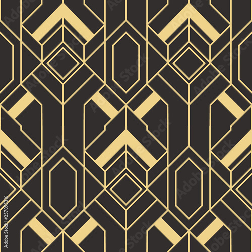 Fotografía  Abstract art deco seamless pattern 147