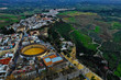 Ronda in Spanien Luftbilder - Puente Nuevo, Plaza de Toros de Ronda und Sehenswürdigkeiten von Ronda