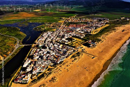 Foto op Aluminium Scandinavië Andalusien - Luftbilder von Stränden, Ortschaften und Landschaften in Süspanien