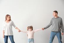 Divorced Parents Arguing About...