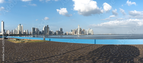 Staande foto Abu Dhabi skyline of panama city, the capital of the republic of panama