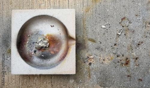 Foto Goldsmith silver melting