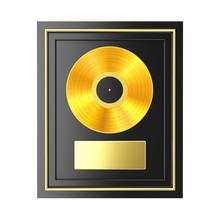 Golden Vinyl Or CD Prize Award...
