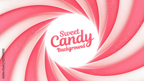 Canvastavla Sweet candy background with place for your content