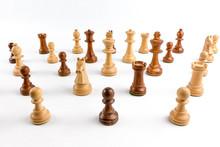 Partie De Jeu D'échecs