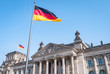 Leinwandbild Motiv germany berlin reichstag building german parliament bundestag