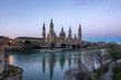 Basilica of Our Lady of the Pilar in Zaragoza, Spain