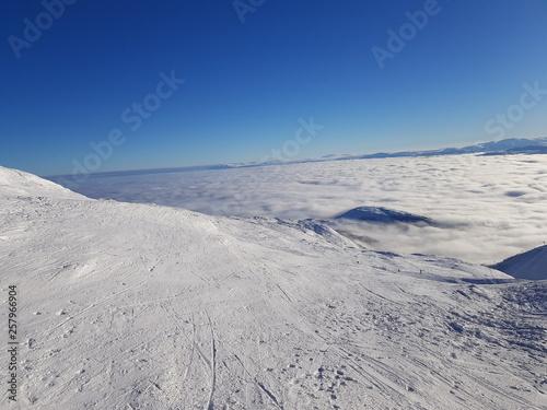 Foto auf Gartenposter Antarktika Mountains