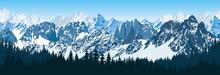 Vector Karakoram Himalayan Mou...