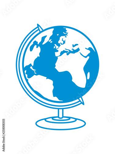 Globus Weltkugel Karte.Erde Globus Planet Weltkugel Karte Welt Klimawandel Umwelt Schutz