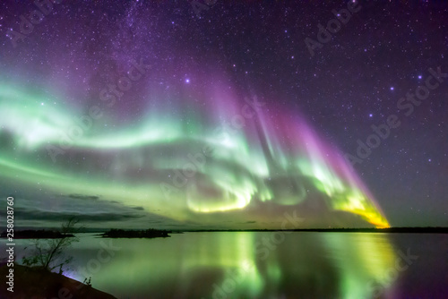 Acrylic Prints Northern lights オーロラ
