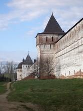 The Fortress Wall And Towers, Boris And Gleb Monastery, Borisoglebsk, Rostov District, Yaroslavl Region, Russia