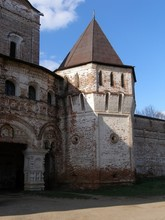 Tower, South Gate, Boris And Gleb Monastery, Borisoglebsk, Rostov District, Yaroslavl Region, Russia