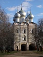 The Church Of St. Sergius Of Radonezh, South Gate, Boris And Gleb Monastery, Borisoglebsk, Rostov District, Yaroslavl Region, Russia