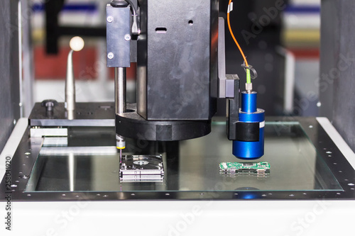 high technology and accuracy of vision measuring system for
