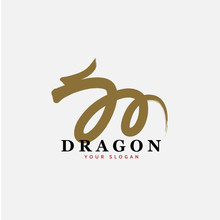 Vector East Asian Dragon Sign ...