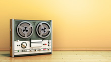 Old Portable Reel To Reel Tube...