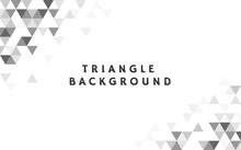 Geometric Triangle Pattern Ill...