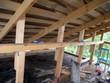 installation of the attic