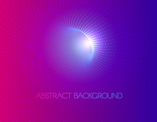 Vector Abstract Futuristic Aesthetic Background