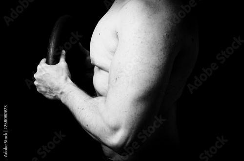 Fototapeta Sportowiec Siłownia obraz